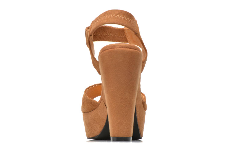 Sandales et nu-pieds Shoe the bear Sandy Marron vue droite