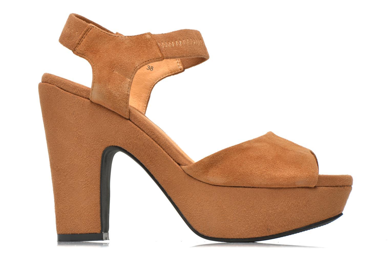 Sandales et nu-pieds Shoe the bear Sandy Marron vue derrière
