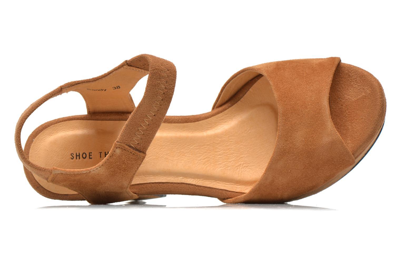 Sandales et nu-pieds Shoe the bear Sandy Marron vue gauche
