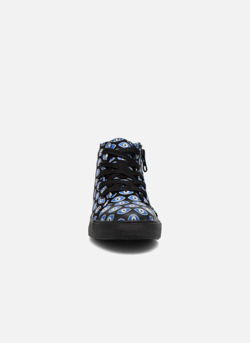 Baskets Akid Anthony Noir vue portées chaussures