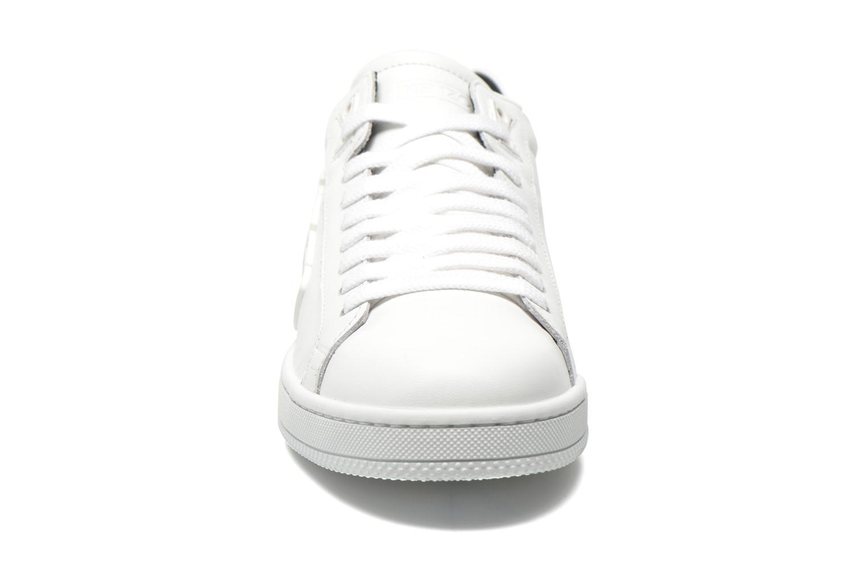 Baskets Kenzo Tennix Blanc vue portées chaussures