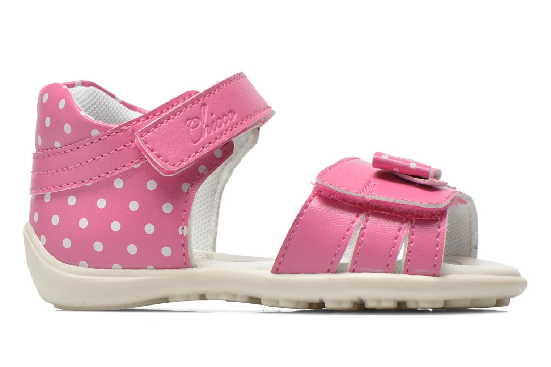 Sandales et nu-pieds Chicco Gigia Rose vue derrière