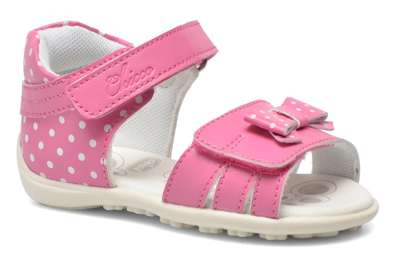 Sandales et nu-pieds Chicco Gigia Rose vue détail/paire