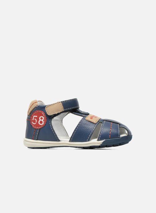 Sandales et nu-pieds Chicco Gedin Bleu vue derrière