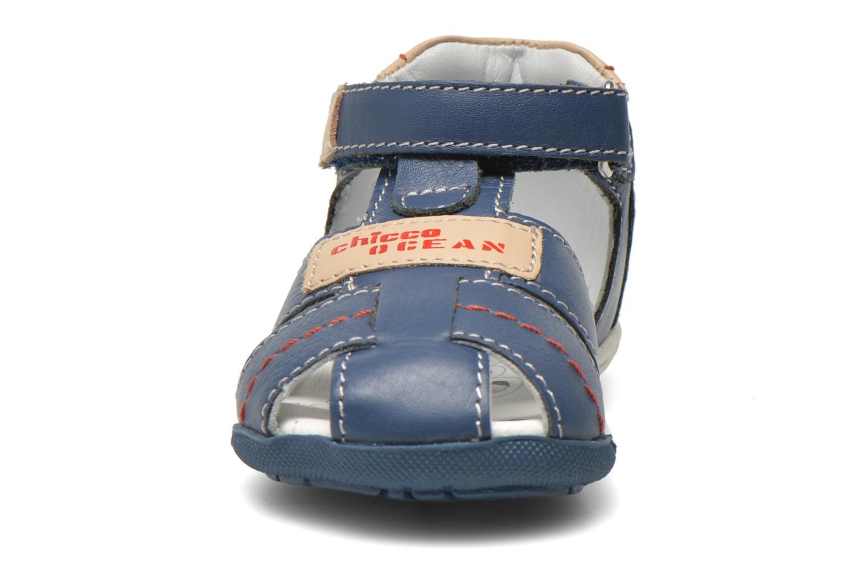 Sandales et nu-pieds Chicco Gedin Bleu vue portées chaussures
