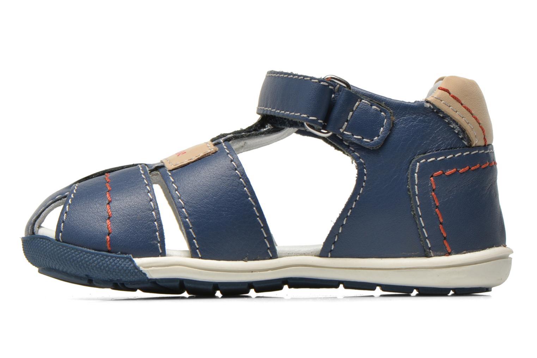 Sandales et nu-pieds Chicco Gedin Bleu vue face