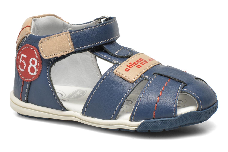 Sandales et nu-pieds Chicco Gedin Bleu vue détail/paire