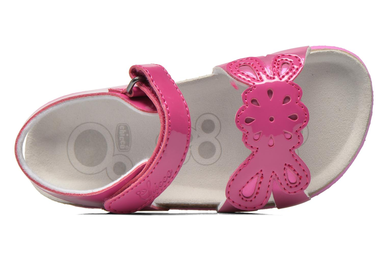 Sandales et nu-pieds Chicco Hamalia Rose vue gauche