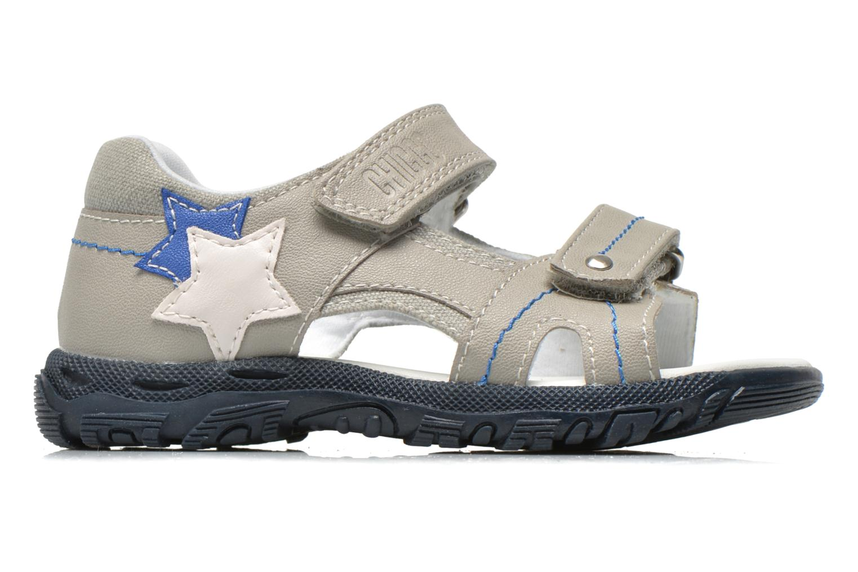 Sandales et nu-pieds Chicco Cos Gris vue derrière