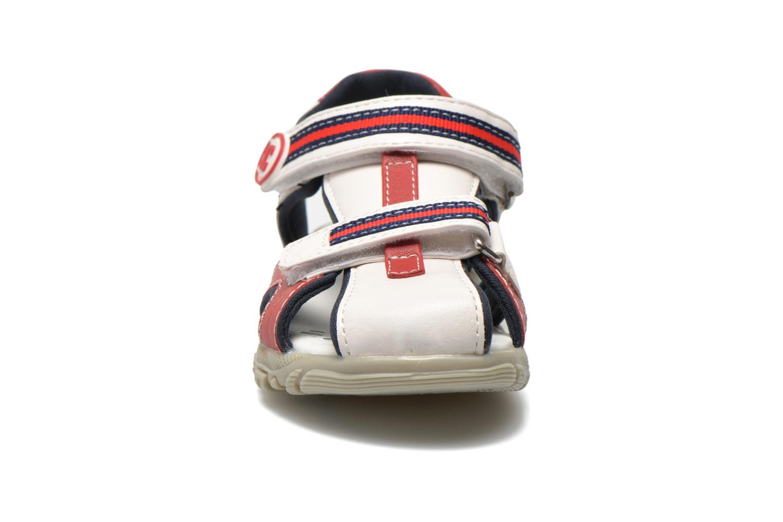 Sandales et nu-pieds Chicco Cucciolo Blanc vue portées chaussures