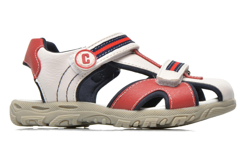 Sandales et nu-pieds Chicco Cucciolo Blanc vue derrière