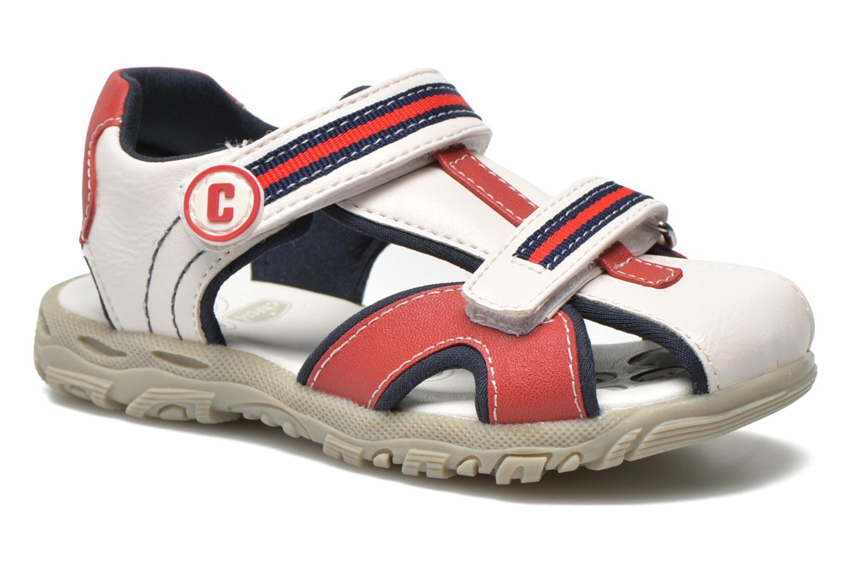 Sandales et nu-pieds Chicco Cucciolo Blanc vue détail/paire