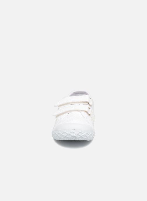 Baskets Chicco Cambridge Blanc vue portées chaussures