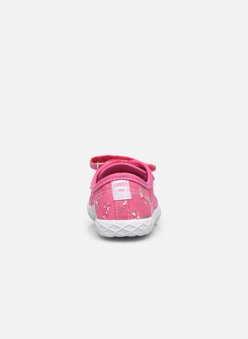 Sneaker Chicco Cambridge rosa ansicht von rechts
