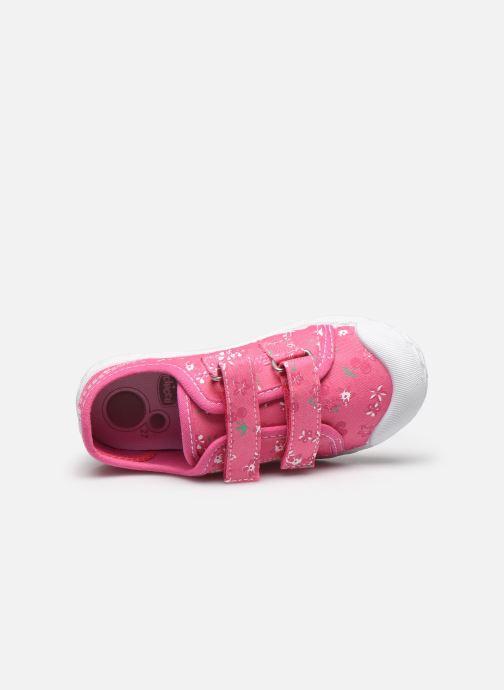 Sneaker Chicco Cambridge rosa ansicht von links