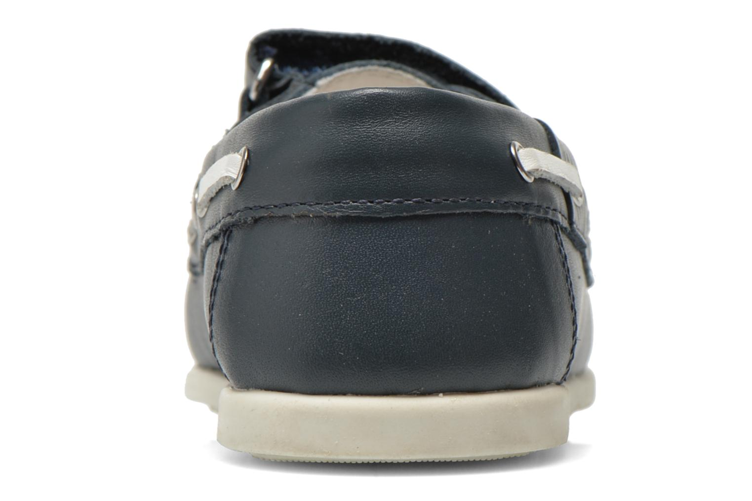Loafers Chicco Crem Blue view from the right