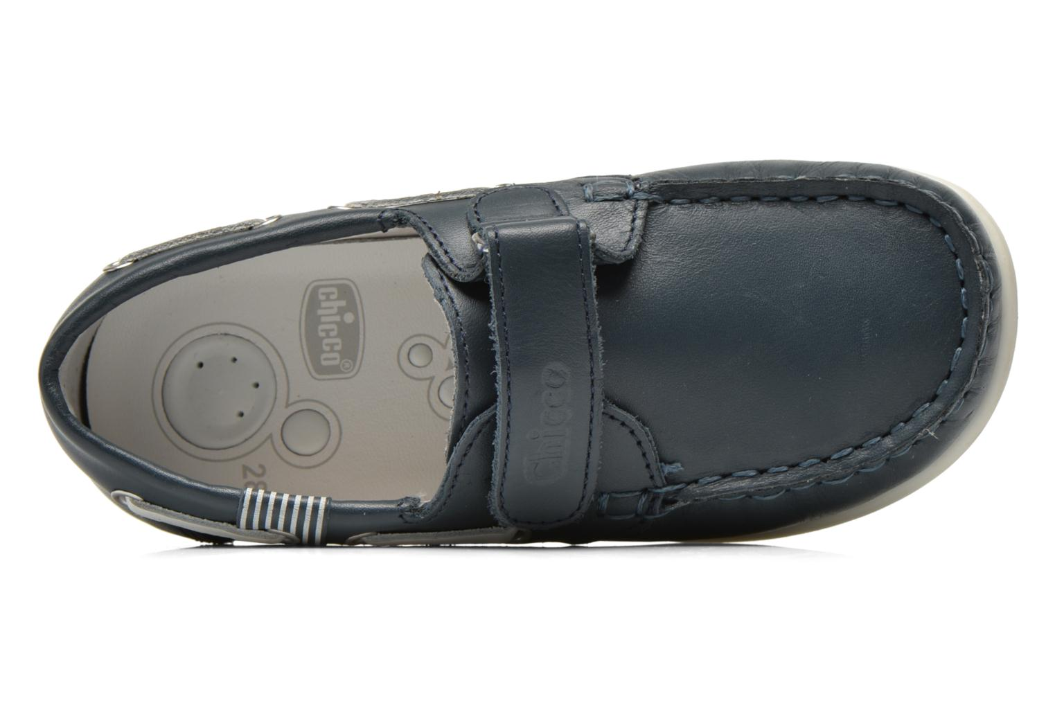 Mocassins Chicco Crem Blauw links