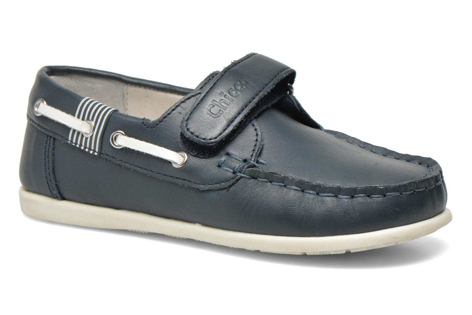 Mocassins Chicco Crem Blauw detail