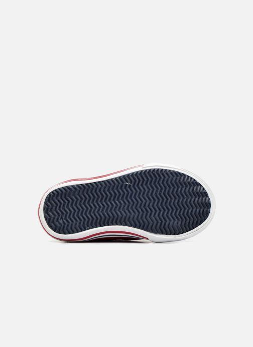 Sneakers Le Coq Sportif Saint Gaetan Inf Rosso immagine dall'alto