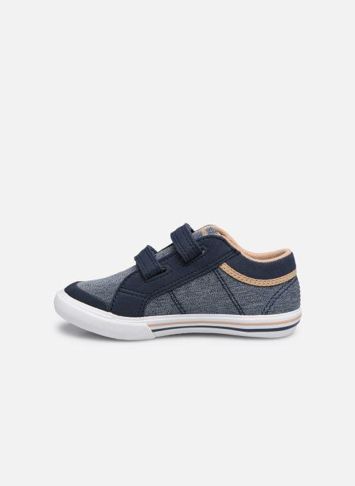 Sneakers Le Coq Sportif Saint Gaetan Inf Blauw voorkant