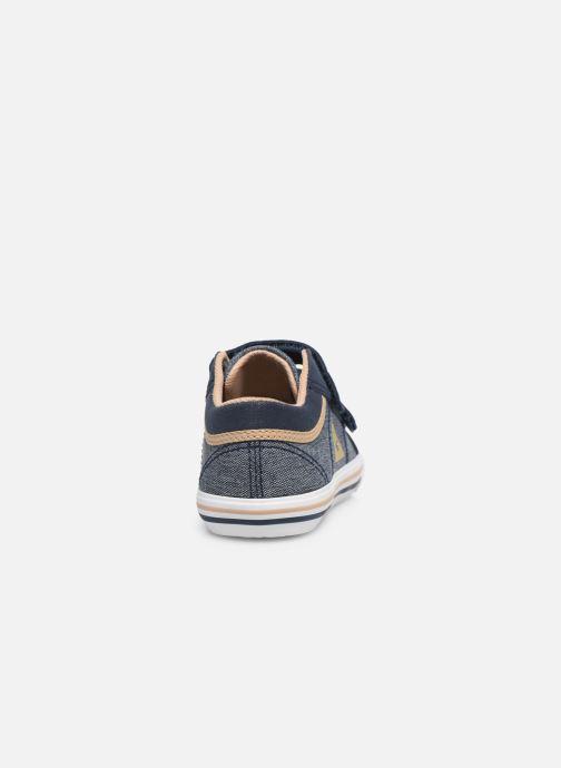 Sneakers Le Coq Sportif Saint Gaetan Inf Blauw rechts
