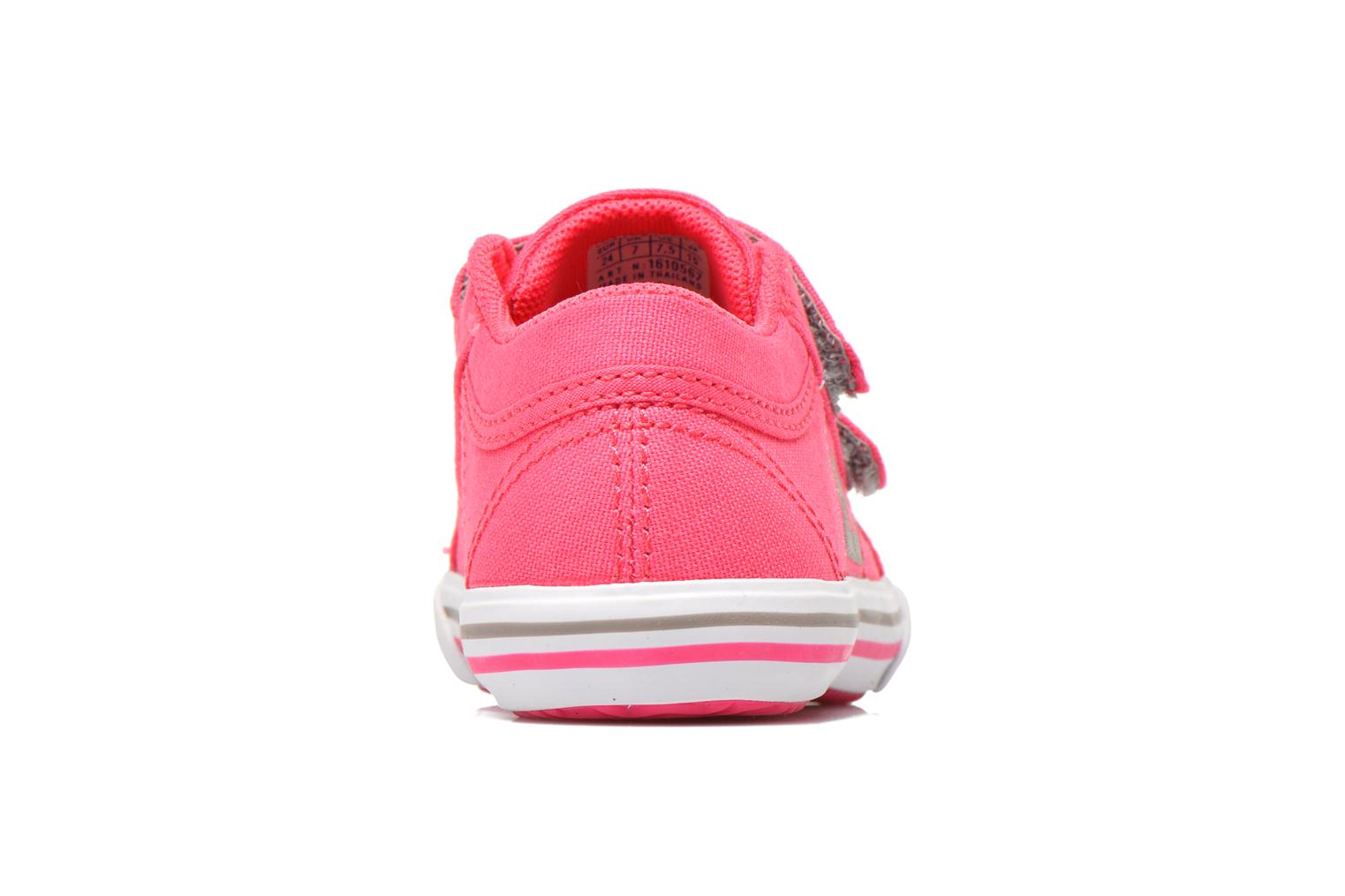Trainers Le Coq Sportif Saint Gaetan Inf Pink view from the right