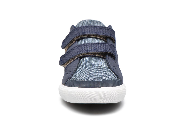 Baskets Le Coq Sportif Saint Gaetan Inf Bleu vue portées chaussures