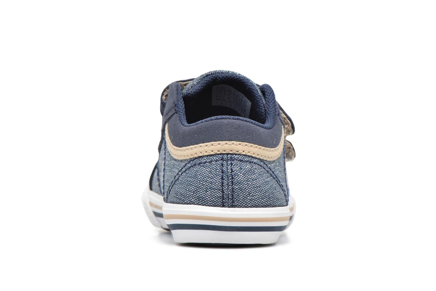 Trainers Le Coq Sportif Saint Gaetan Inf Blue view from the right