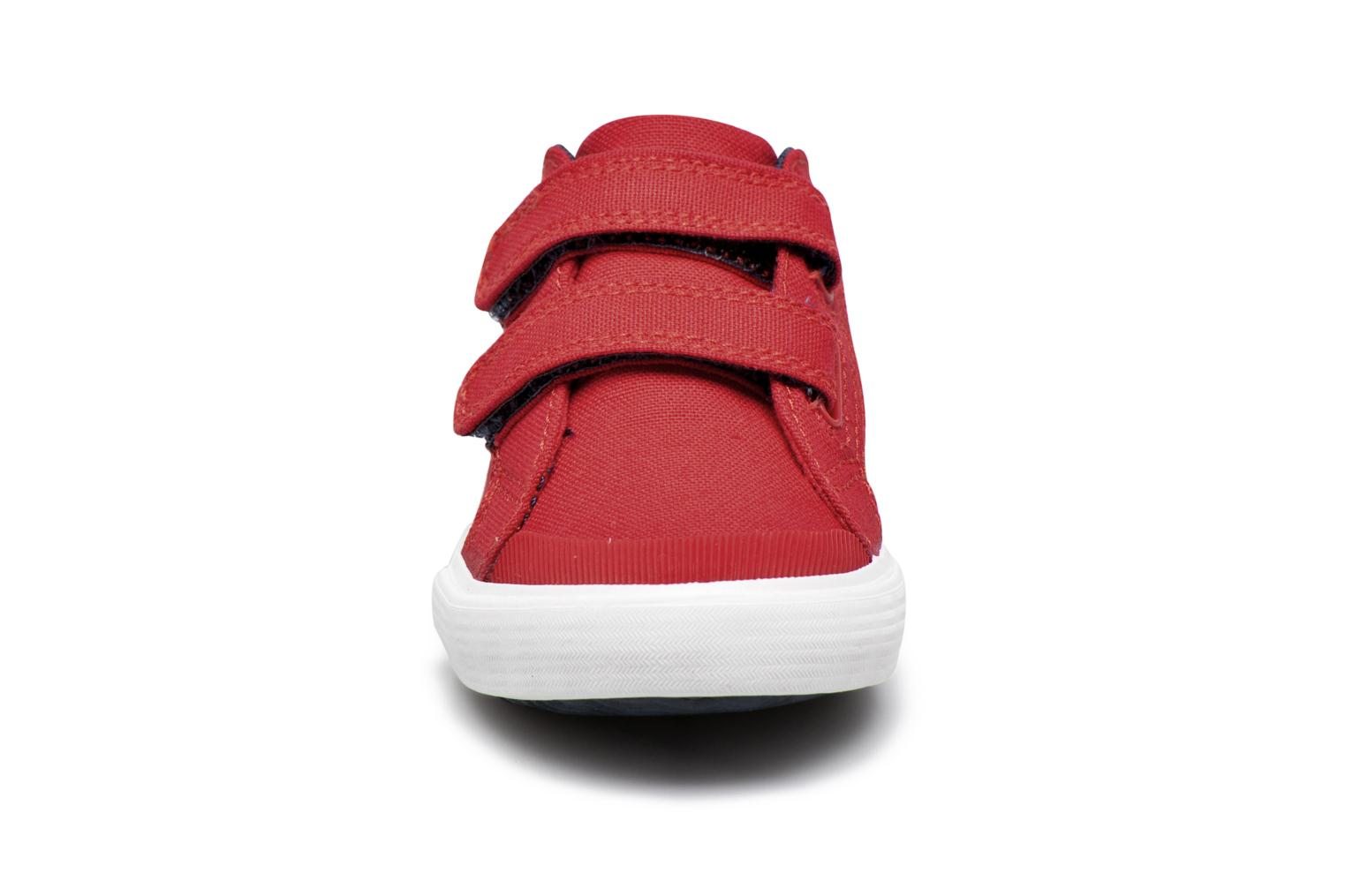 Trainers Le Coq Sportif Saint Gaetan Inf Red model view