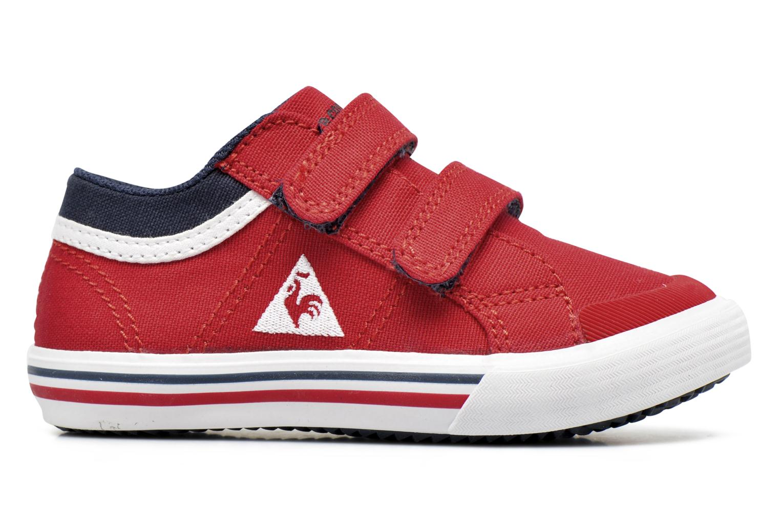 Trainers Le Coq Sportif Saint Gaetan Inf Red back view