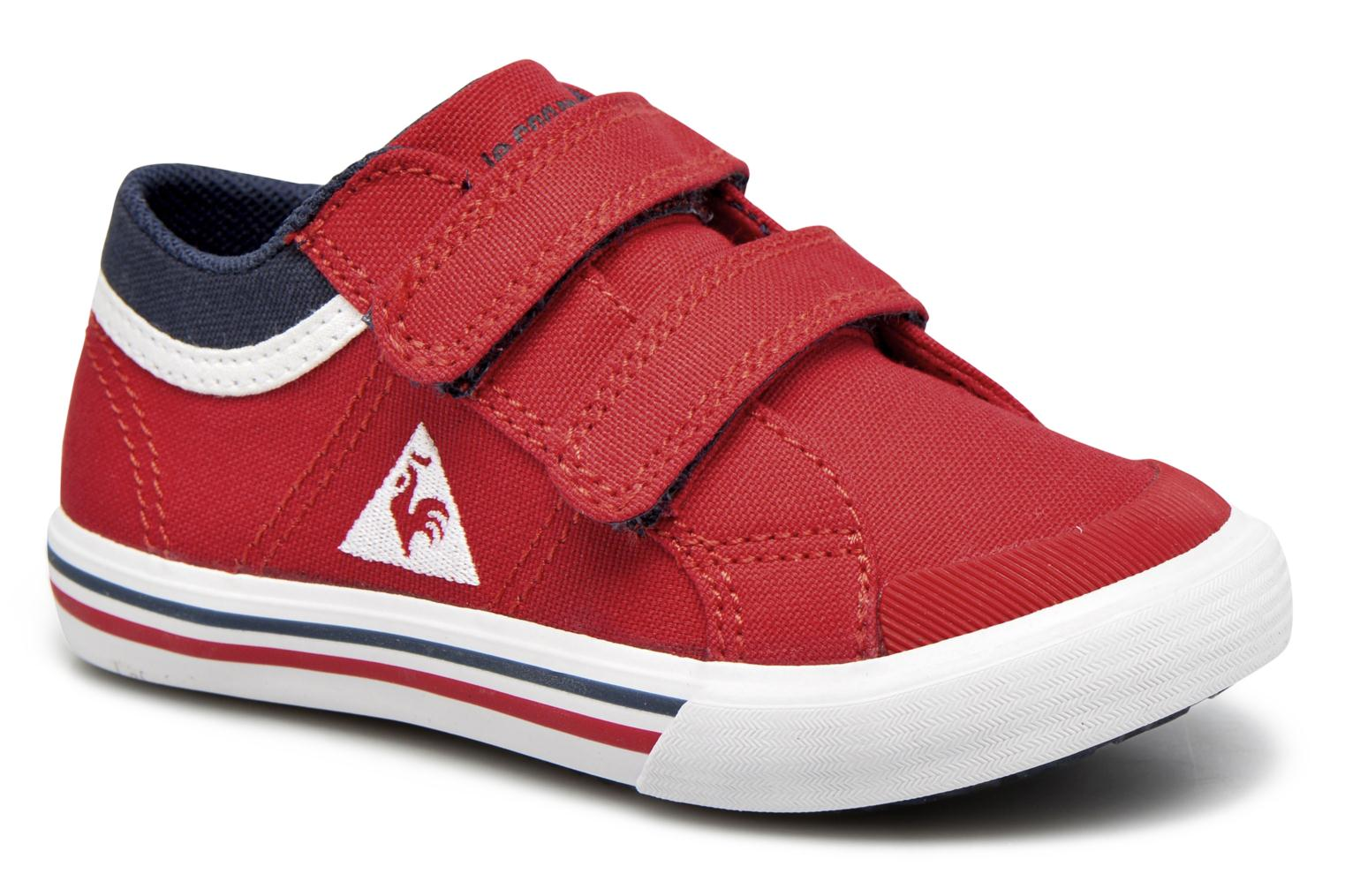 Trainers Le Coq Sportif Saint Gaetan Inf Red detailed view/ Pair view