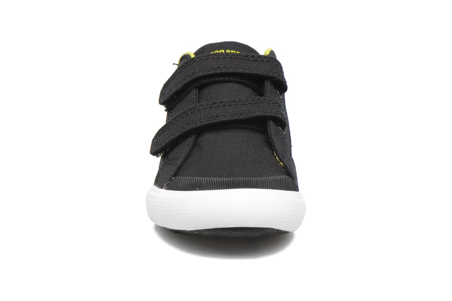 Trainers Le Coq Sportif Saint Gaetan Inf Black model view
