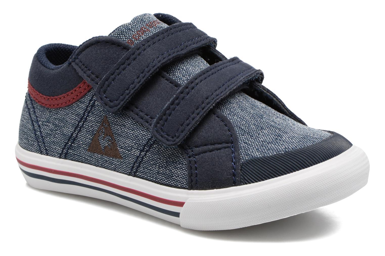 Sneakers Le Coq Sportif Saint Gaetan Inf Blå detaljeret billede af skoene