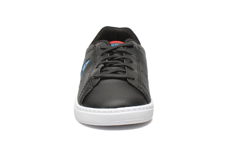 Baskets Le Coq Sportif Courtone INF s lea Noir vue portées chaussures