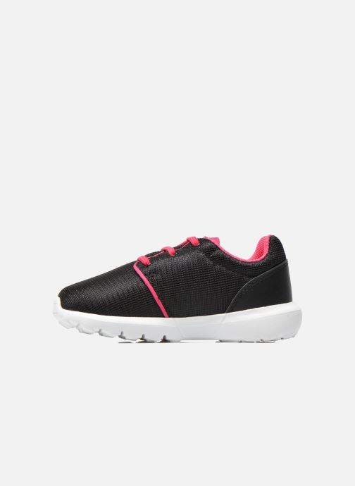 Trainers Le Coq Sportif Dynacomf INF Mesh Black front view