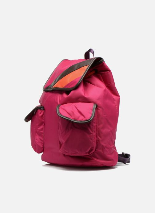 Rucksacks Bensimon Authentic backpack Pink model view