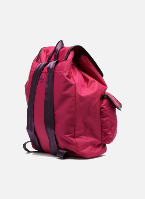 Rucksacks Bensimon Authentic backpack Pink view from the right