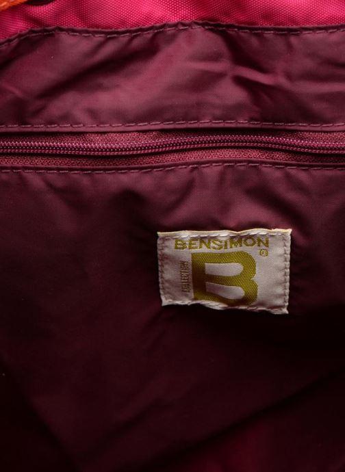 Zaini Bensimon Authentic backpack Rosa immagine posteriore