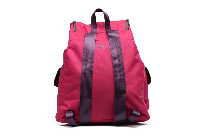 Sacs à dos Bensimon Authentic backpack Rose vue face