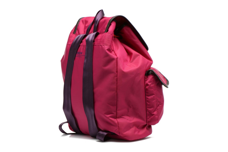 Sacs à dos Bensimon Authentic backpack Rose vue droite