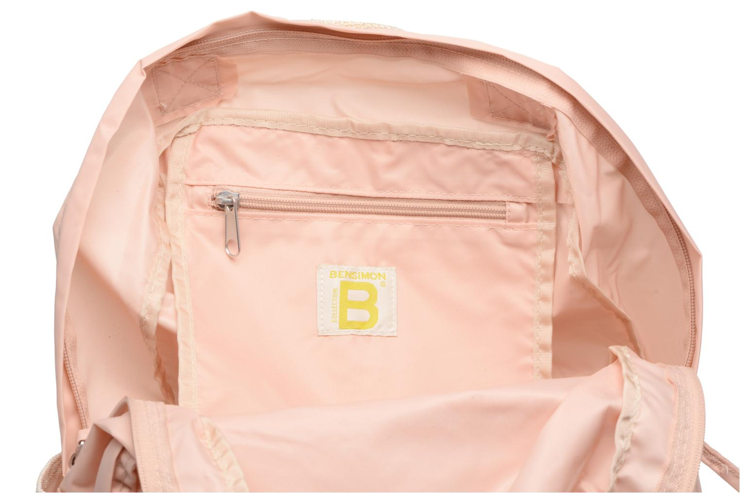 Sacs à dos Bensimon Color backpack Rose vue derrière