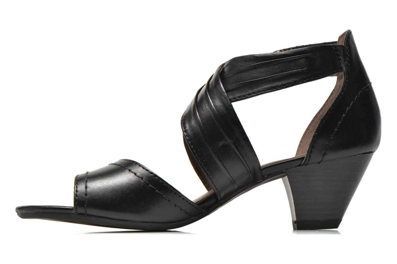 Sandales et nu-pieds Jana shoes Ranona Noir vue face
