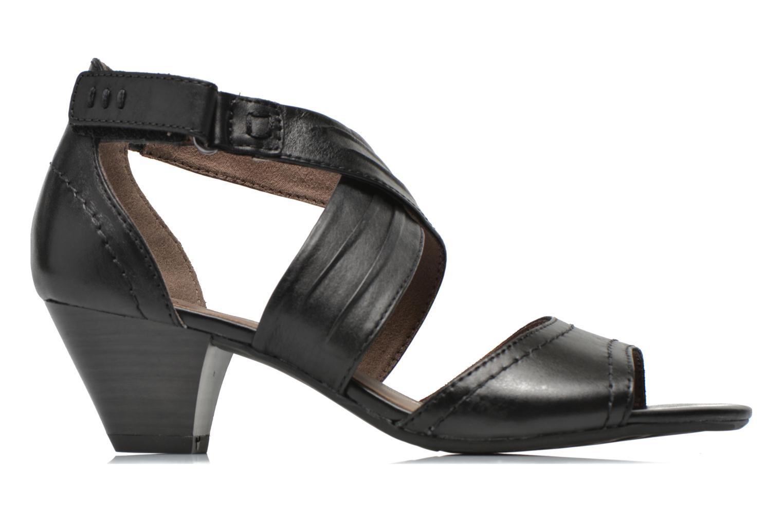 Sandales et nu-pieds Jana shoes Ranona Noir vue derrière