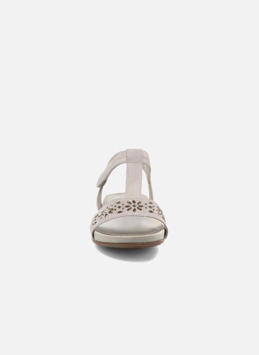 Sandales et nu-pieds Jana shoes Likia Gris vue portées chaussures