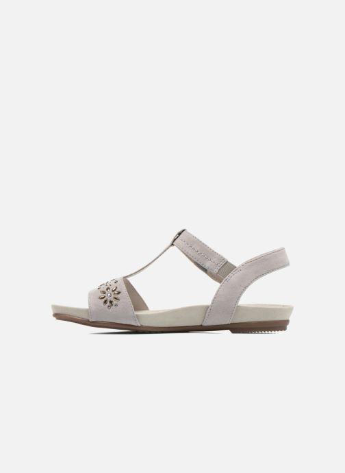 Sandales et nu-pieds Jana shoes Likia Gris vue face