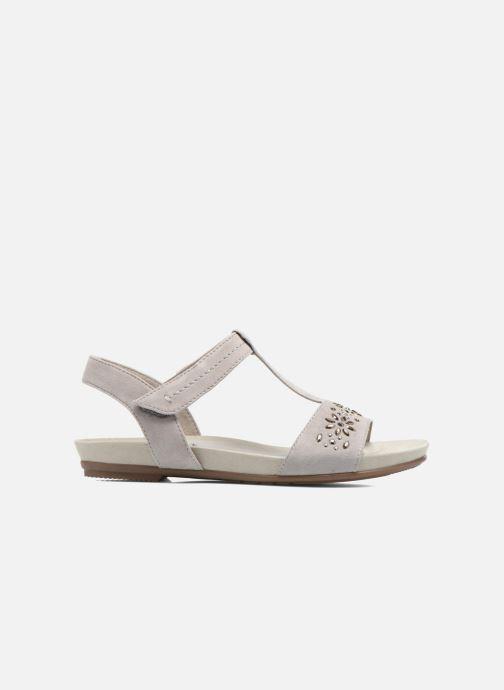 Sandales et nu-pieds Jana shoes Likia Gris vue derrière