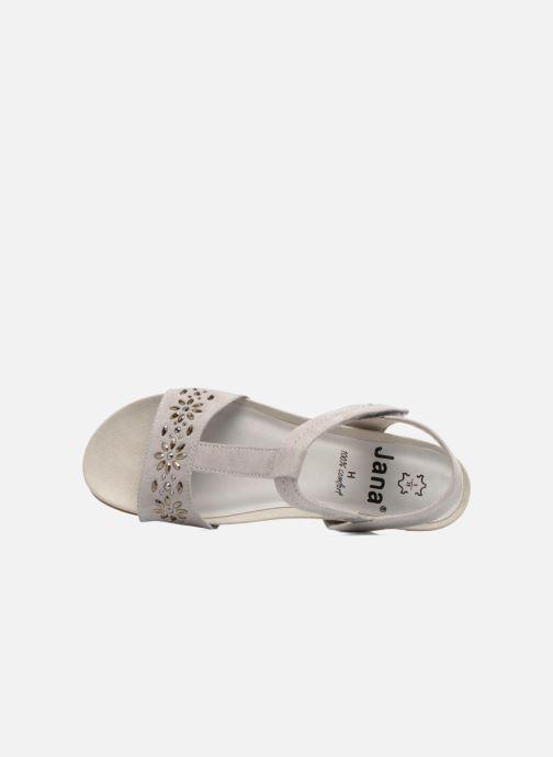 Sandales et nu-pieds Jana shoes Likia Gris vue gauche