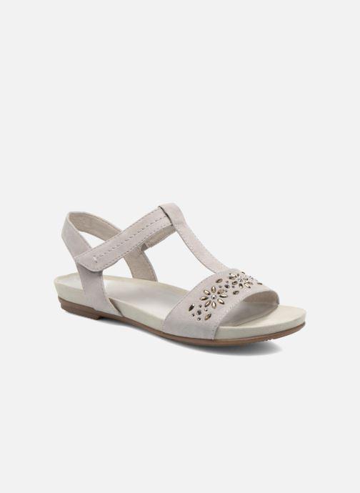 Sandales et nu-pieds Jana shoes Likia Gris vue détail/paire