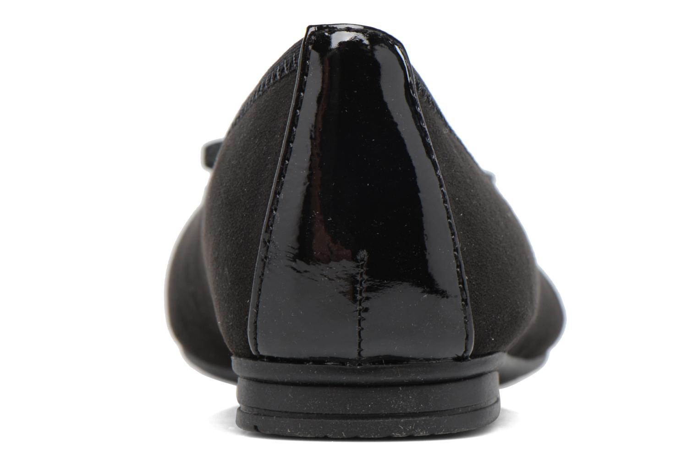 Ballerines Jana shoes Iliana Noir vue droite