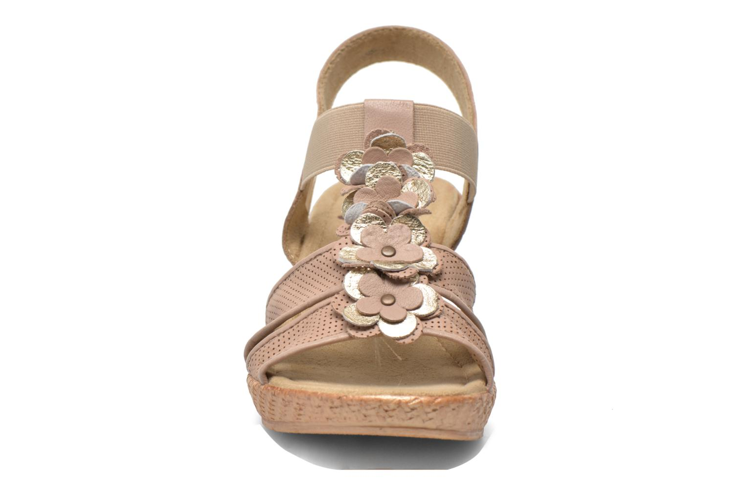 Sandals Jana shoes Morana Beige model view